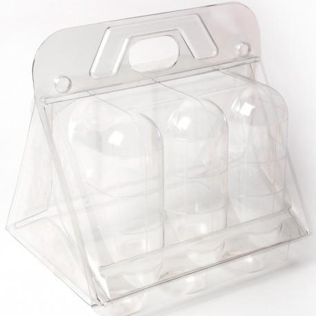 Serre en plastique en lot pour germination
