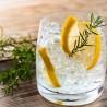 Bocal DIY Gin avec épices bio