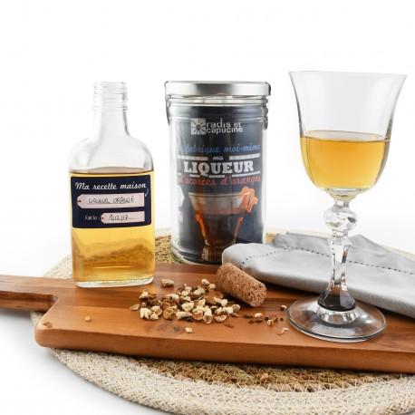 DIY organic Orange liqueur kit