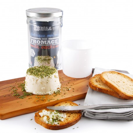 DIY Organic French Cow cheese kit