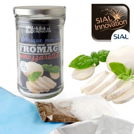 Mozzarella fabrication maison avec épices bio
