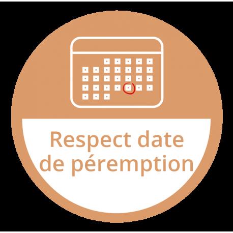 Respect date de péremption