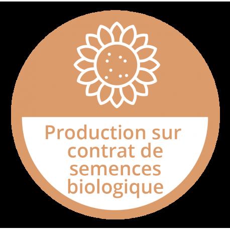 Production sur contrat de semences biologiques
