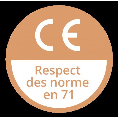 Respect des Normes EN 71