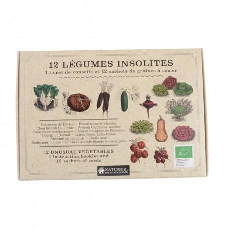 Old vegetables garden 12 seedpacks