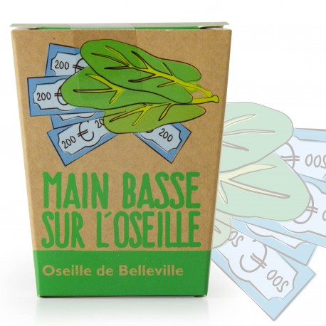 """Kit """"Main basse sur l'oseille""""- Oseille de Belleville"""