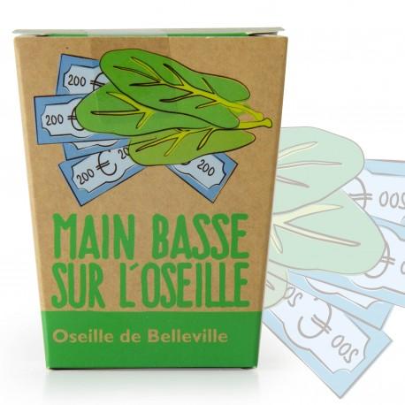 """Kit message """"Main basse sur l'oseille""""- Oseille de belleville"""