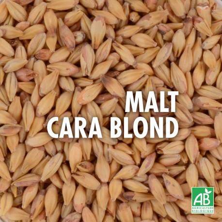 Malt Cara Blond Bio pour bière 20 EBC