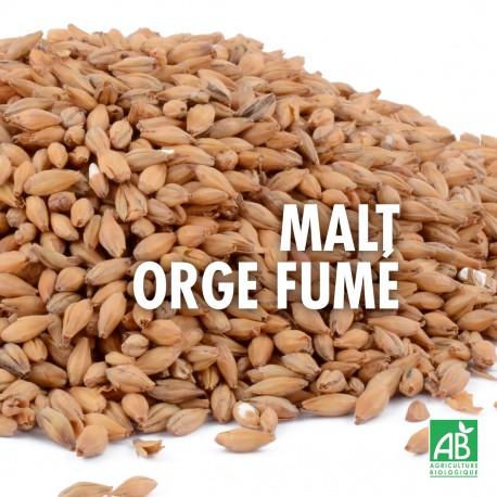 Malt Orge Fumé Bio 4-12 EBC - 1kg