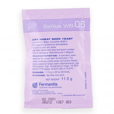 Levure Bière Safbrew Fermentis WB-06