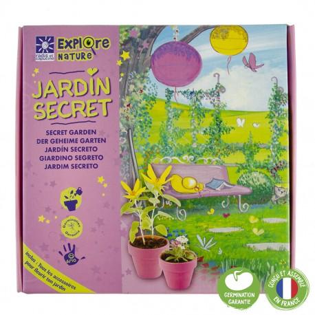 Coffret mon jardin secret
