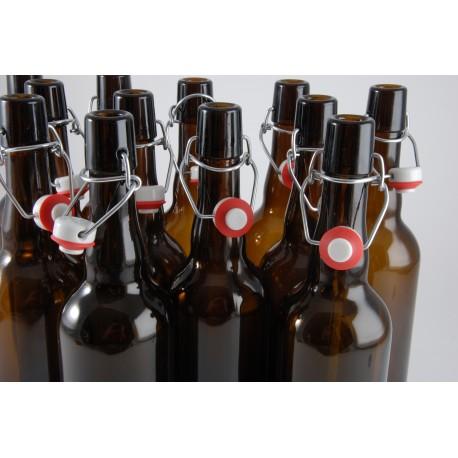 Lot de 24 bouteilles et détergent